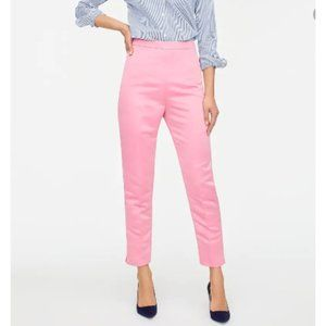 J. Crew Petite High-rise Cigarette Pant In Satin